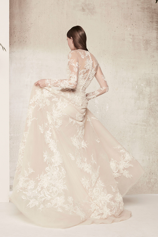 Elie Saab Bridal Spring 2018 Fashion Show | Pinterest | Abendkleider