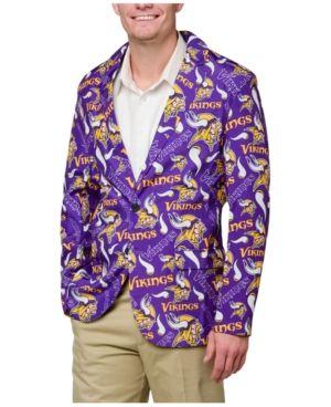 the latest e4894 cc892 Forever Collectibles Men's Minnesota Vikings Fan Suit Jacket ...
