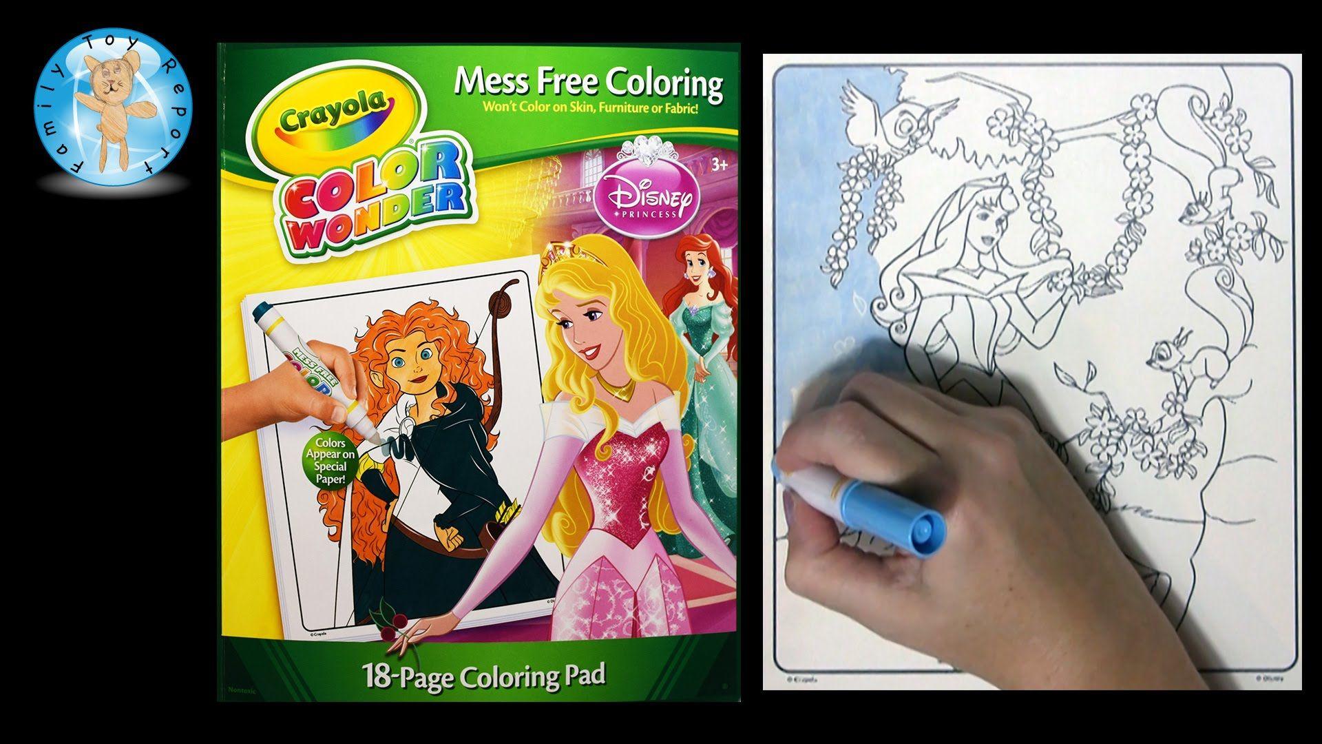 Crayola Mini Coloring Pages Disney Princess