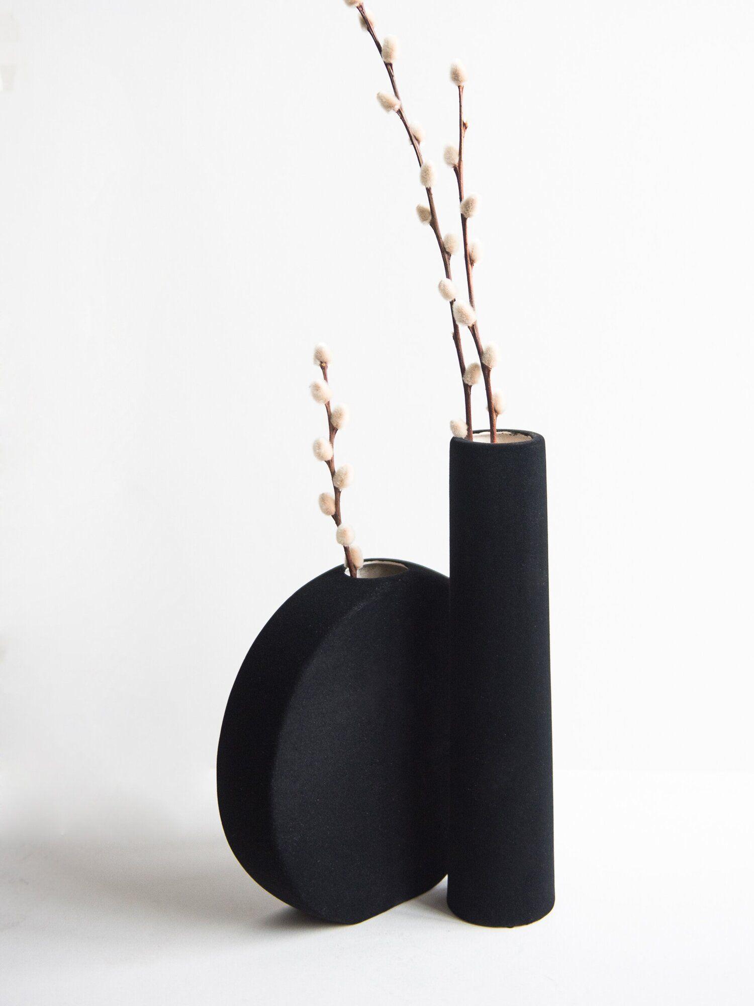 Porcelain Set Of Home Decor Objects Black Decor Black Decor
