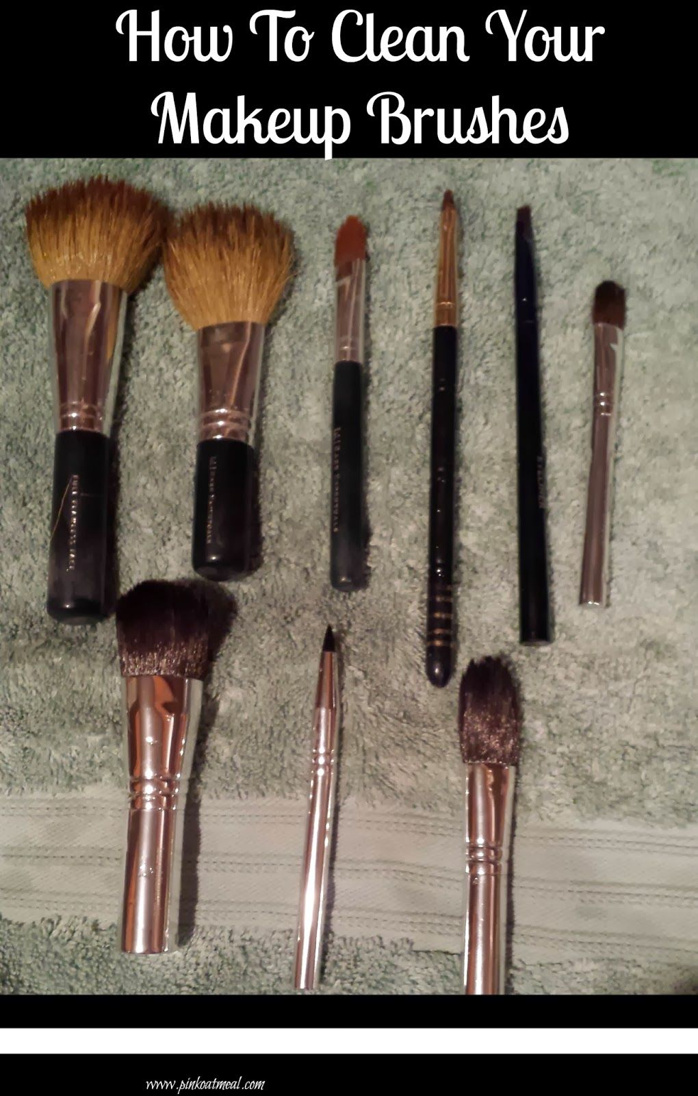 How To Clean Your Makeup Brushes Diy makeup brush, How
