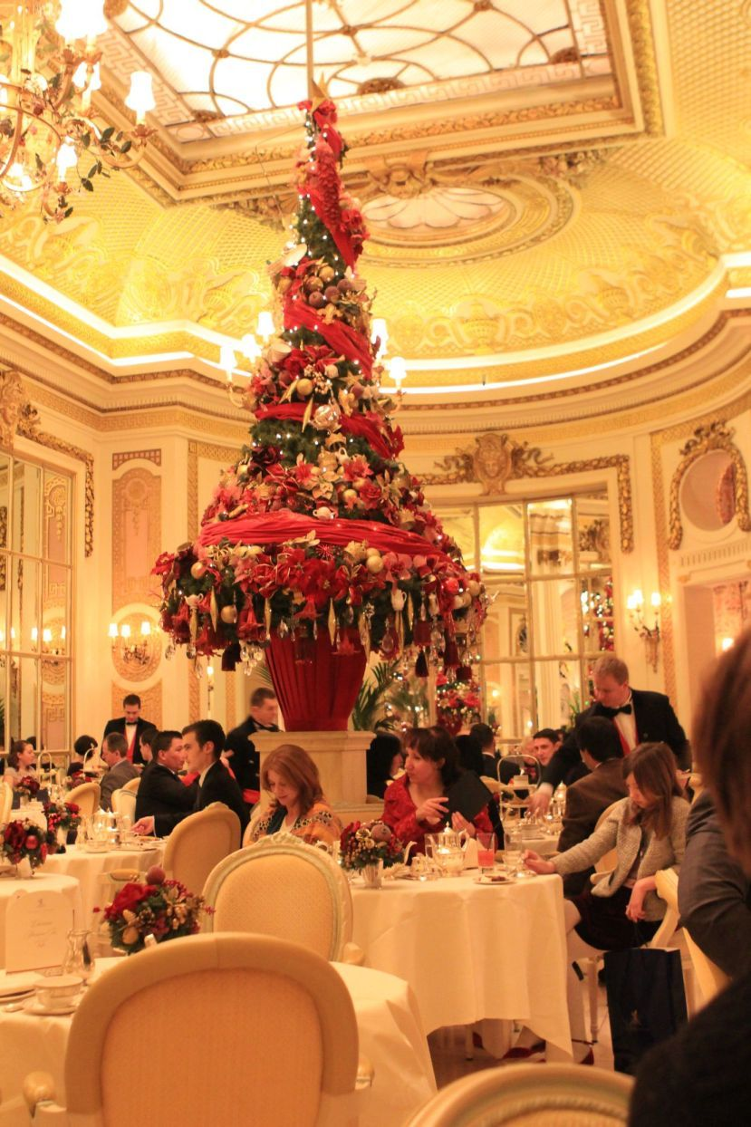 Christmas Afternoon Tea At London Ritz Hotel With Images