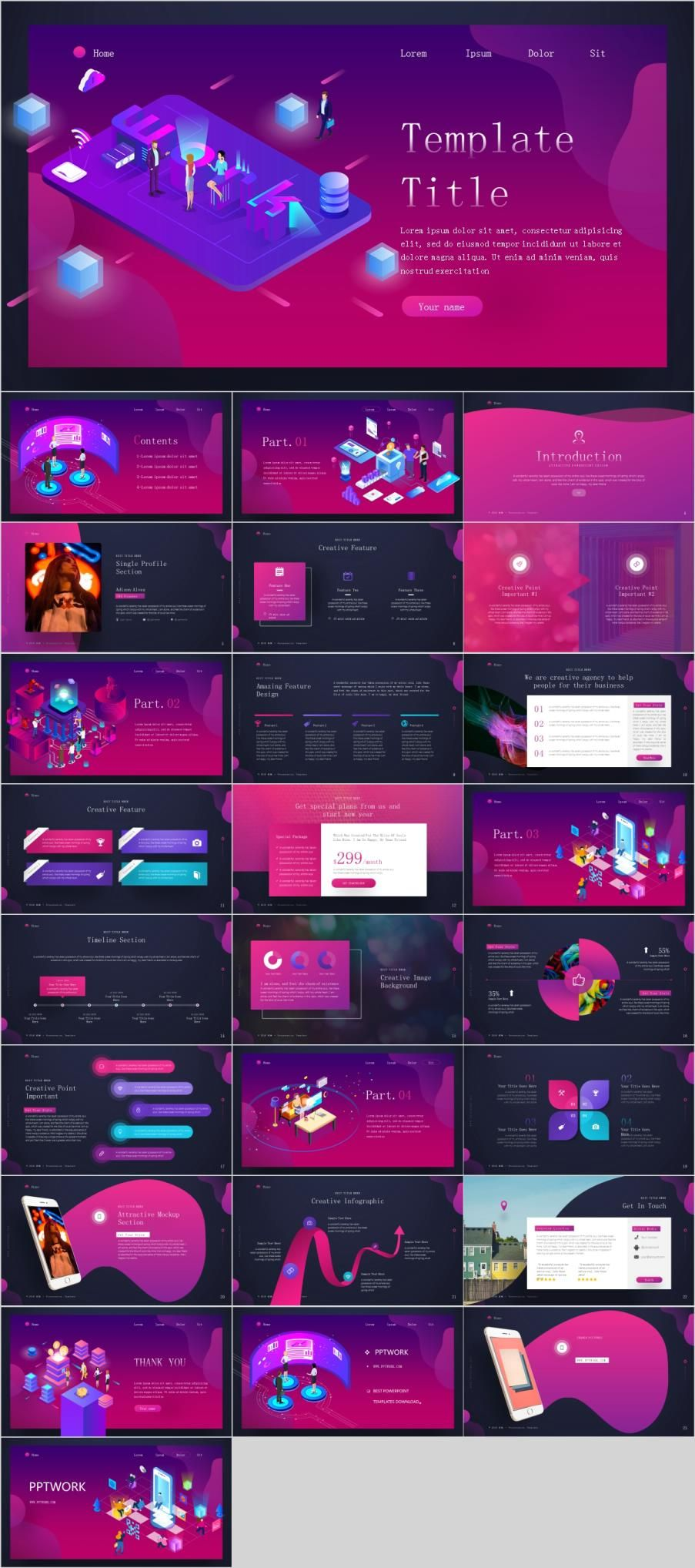 26 Red Web Design Powerpoint Templates Powerpoint Templates Powerpoint Design Templates Creative Powerpoint Templates