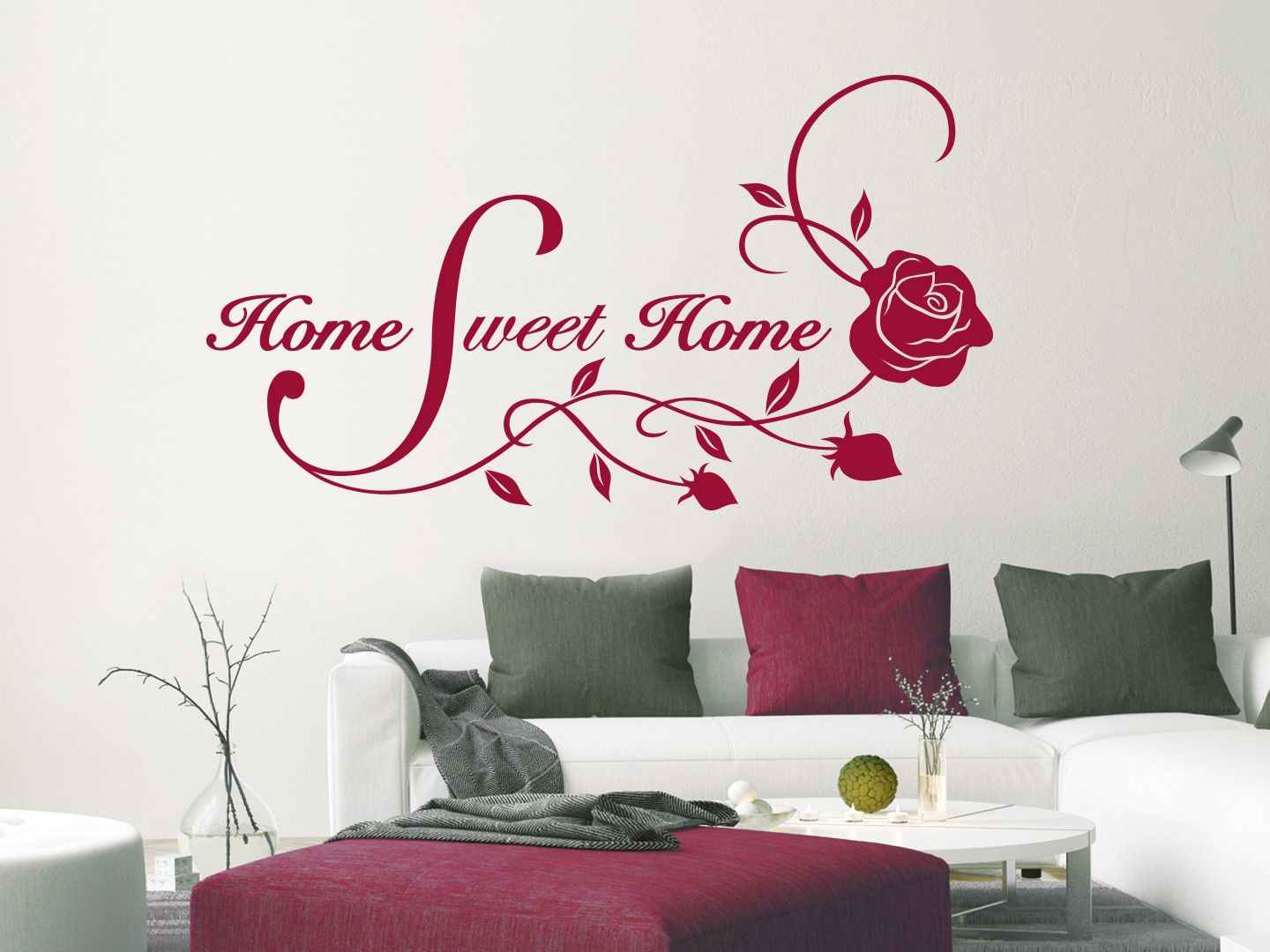 Wandtattoo Zuhause Ist Wandtattoo Home Sweet Home In 2019 Be Happy Wohnideen Nach Dem