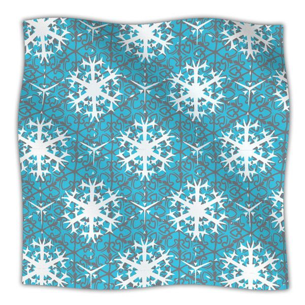 "Miranda Mol ""Precious Flakes"" Fleece Throw Blanket #cybermonday #gifts #home #decor #abstract #mirandamol #kessinhouse #kess #holidays"