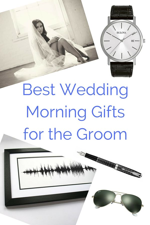 Best Wedding Morning Gifts For The Groom Vintage