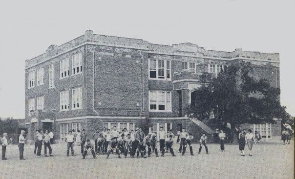 Old Lewisville High School College Street 1950 S Lewisville High School Cross Country Running Lewisville