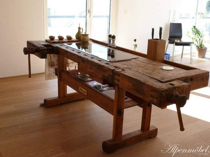 Alpenmobel Workbench Furniture For Dining Room And Kitchen Tables