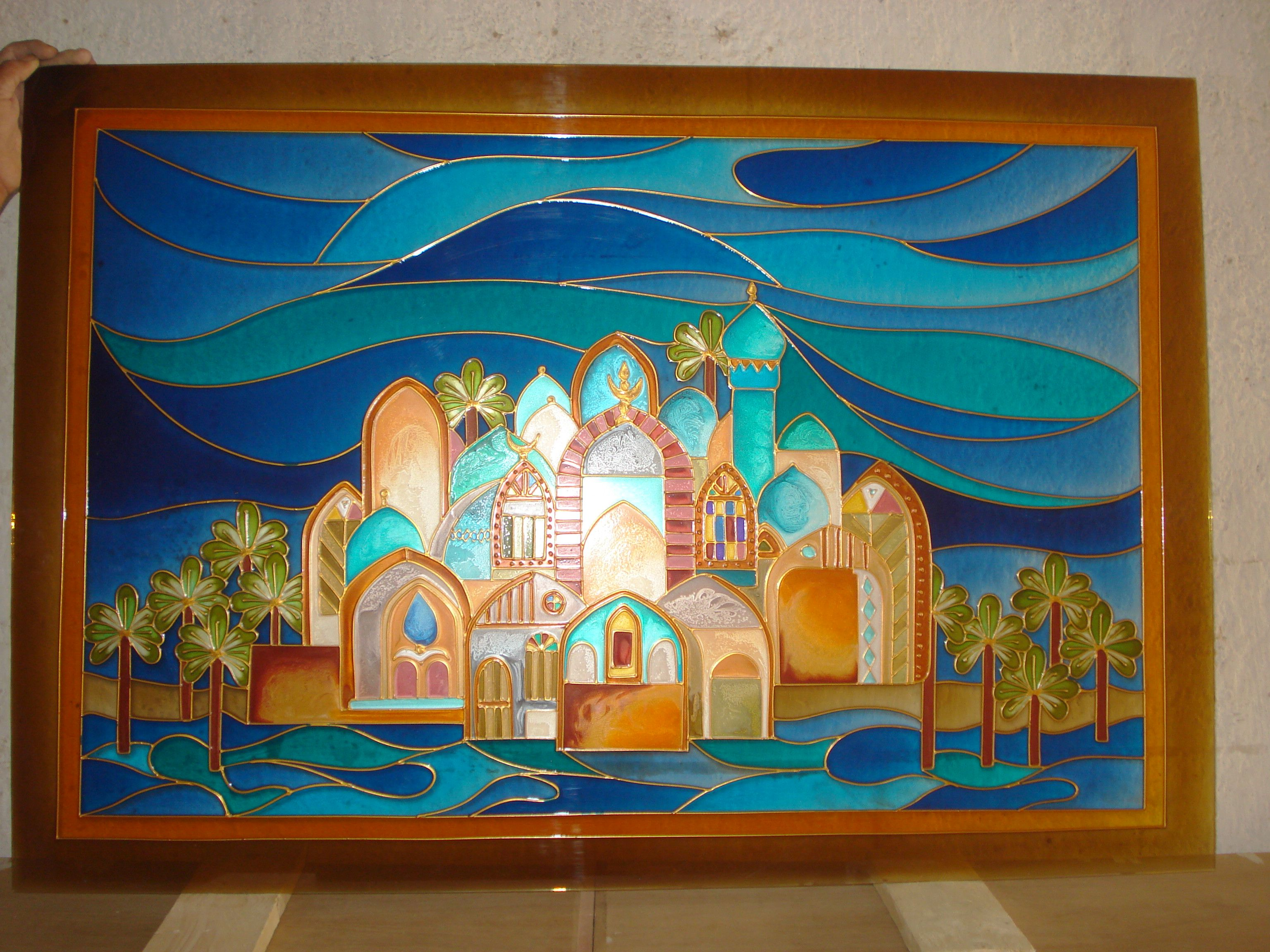 Pin By Eman Ali On Stained Glasse Happy Art Christmas Art Moroccan Art