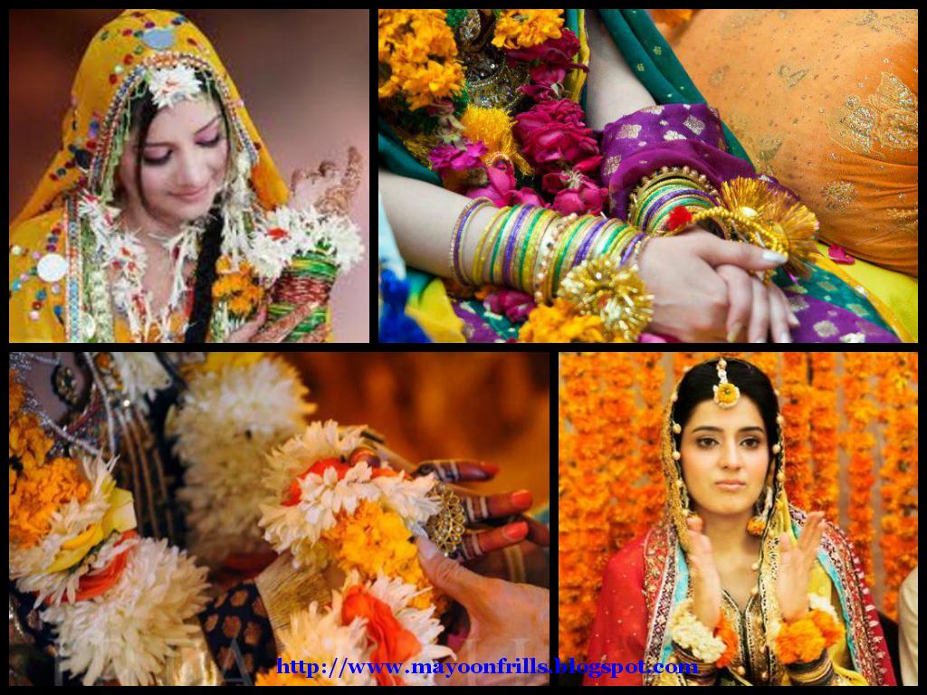 Bridal Flower Jewellery