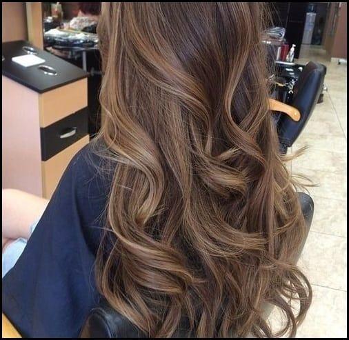 Light Brown With Subtle Blonde Highlights Hair Pinterest Haar Meine Frisuren Hair Styles Brunette Hair Color Subtle Blonde Highlights