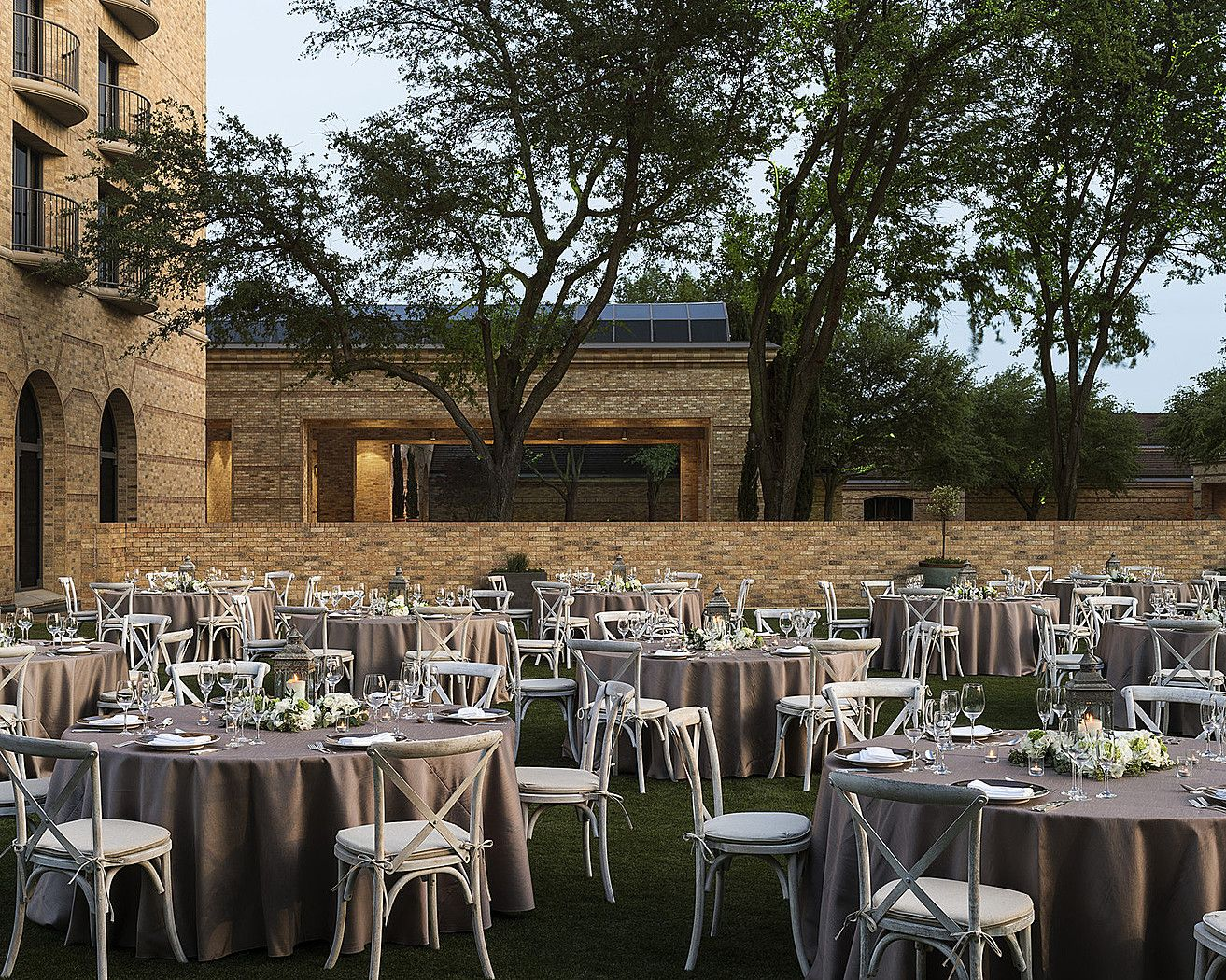 The Terrace at Four Seasons Dallas is the perfect setting ...
