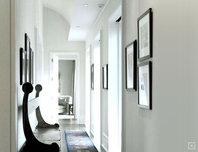 Inbetween rooms hallway paint colors hallway paint for Foyer paint color decorating ideas