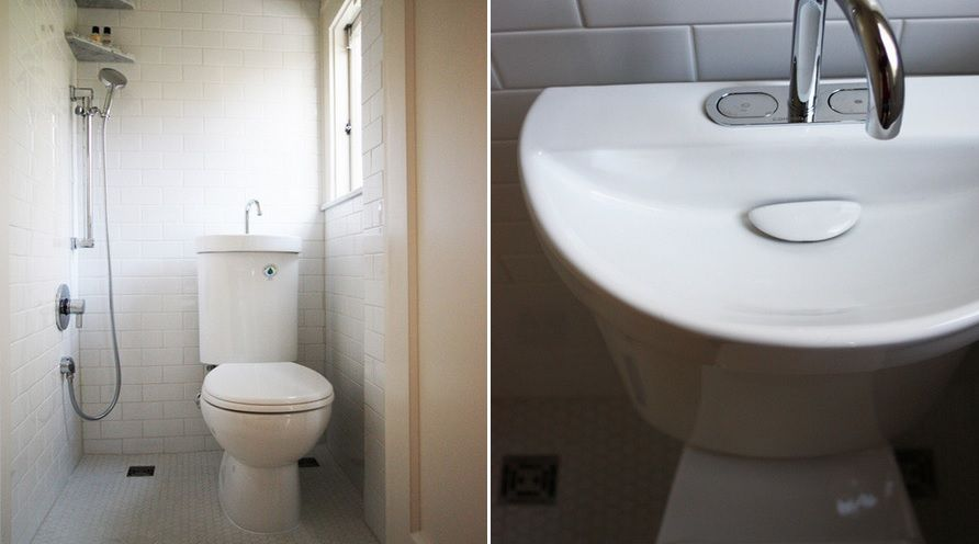 Toilet-Sink Combo Ideas That Help You Stay Green | Shower Toilet ...