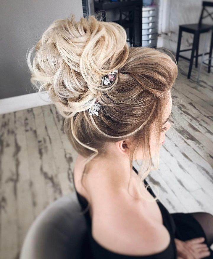 Elegant Updo Wedding Hairstyle To Inspire Your Big Day Look Hair