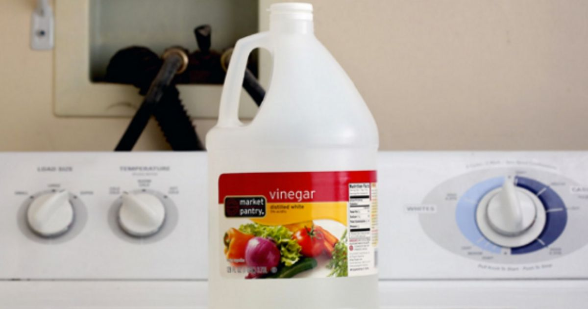 5 Things That Happen When You Put Vinegar In With Your Laundry