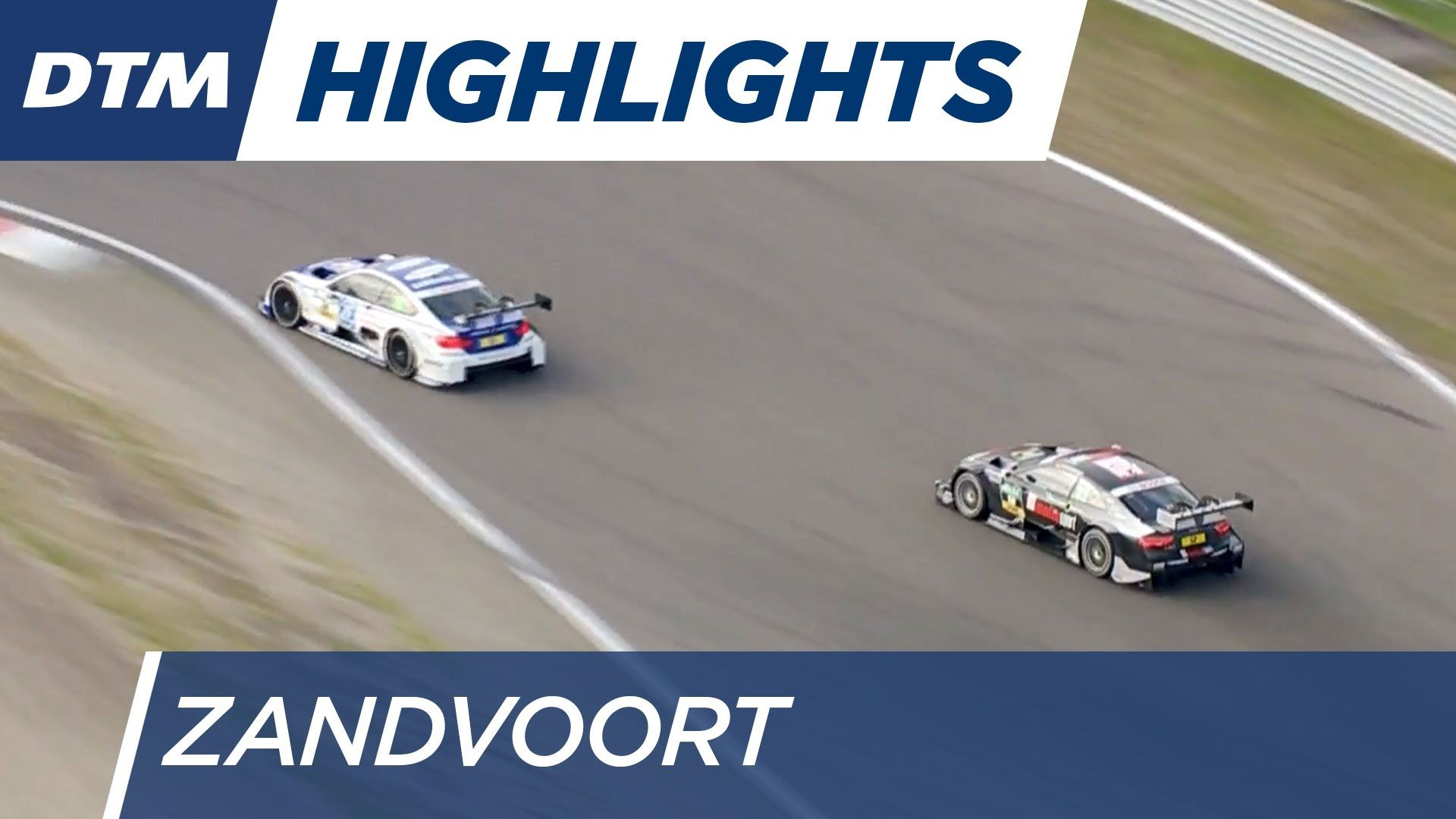Rennen 1 Highlights - DTM Zandvoort 2016 // Veröffentlicht am 16.07.2016 Watch the highlights of the first DTM race in Zandvoort.  Subscribe to our YouTube channel (http://bit.do/subscribeDTM) and follow us on our social media platforms: