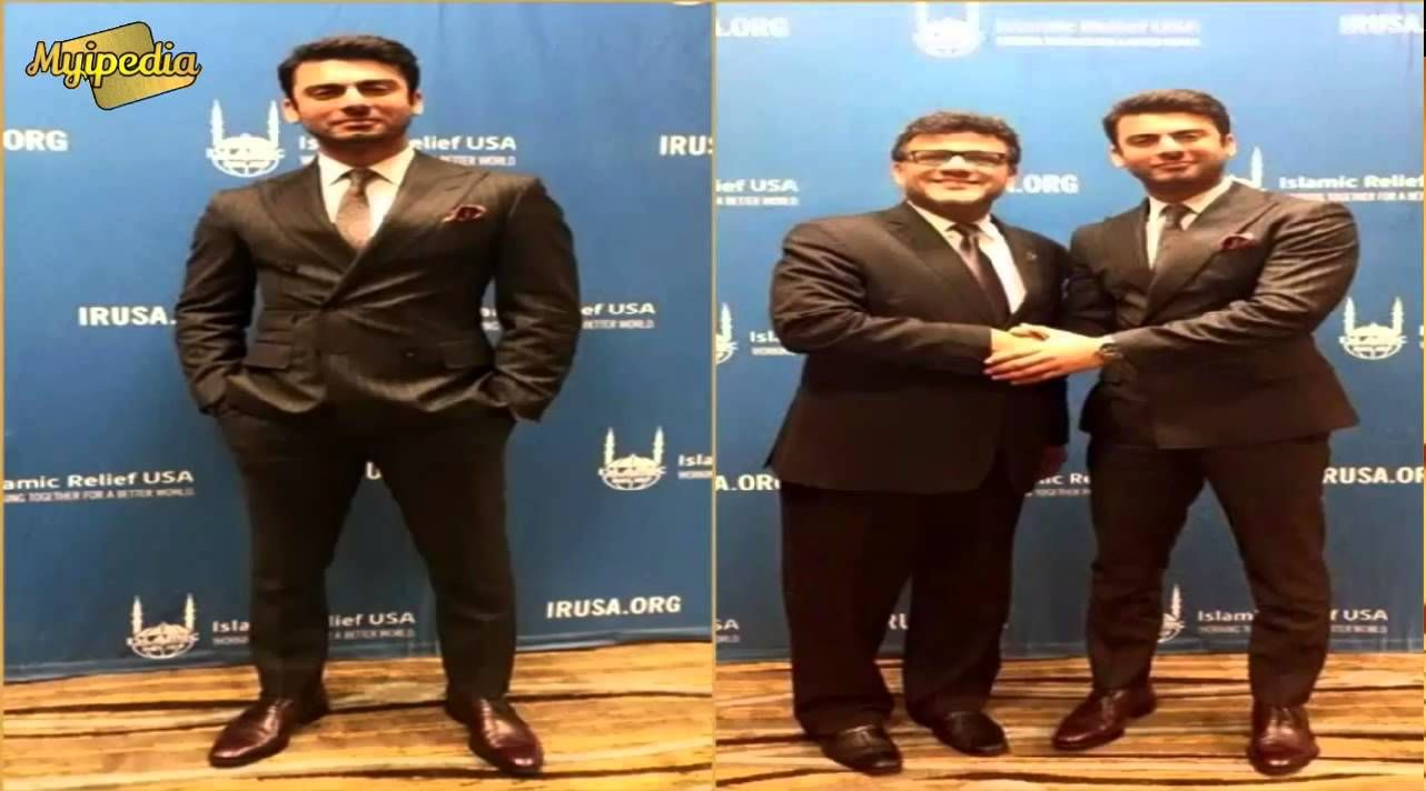 Fawad Khan at Islamic Relief USA for Fund Raising