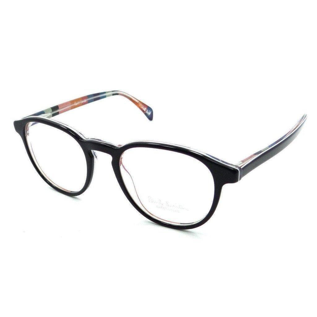 5dc9f389e6 Paul Smith Rx Eyeglasses Frames PM 8263 1618 48x19 Mayall Onyx   Artists  Stripe