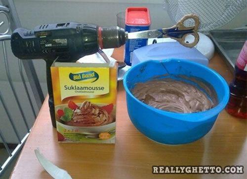 Really Ghetto Hand Mixer