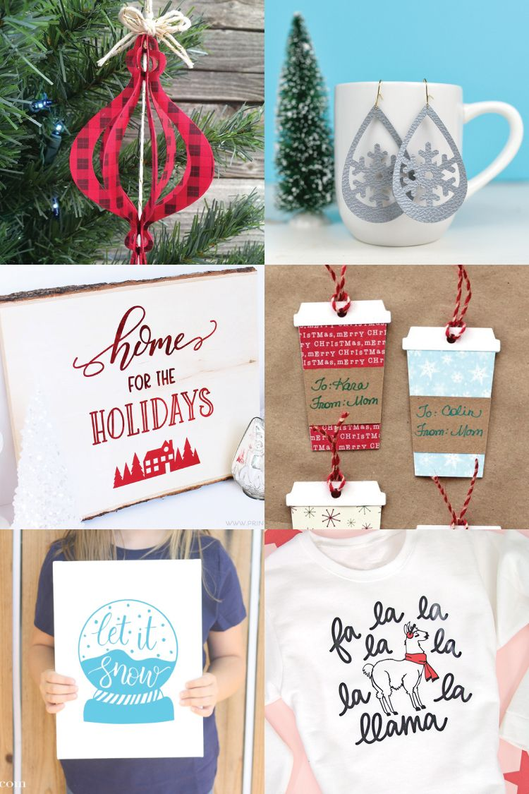 Download Address Christmas Cards with the Cricut Explore | Paper ...