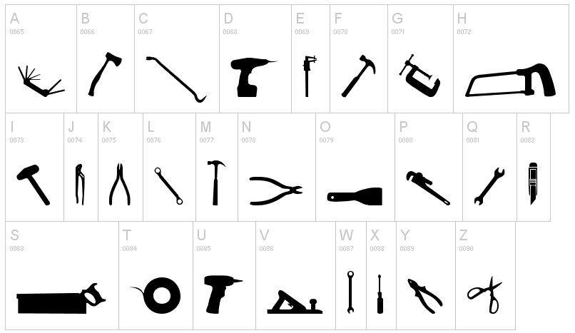 Tool Font