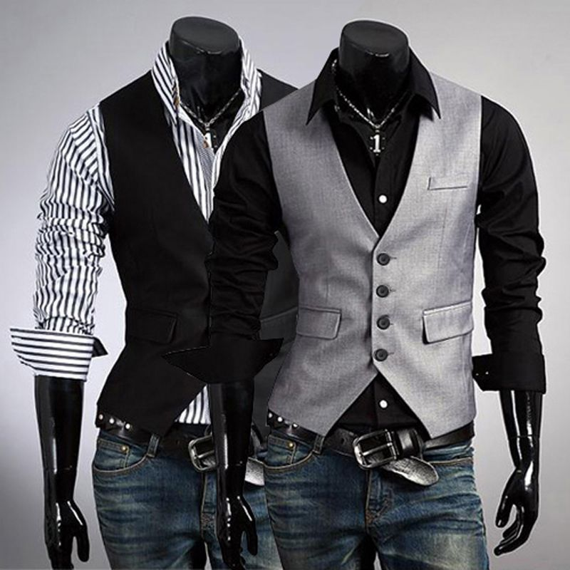 Size XL...Cheap Vests & Waistcoats on Sale at Bargain Price, Buy ...