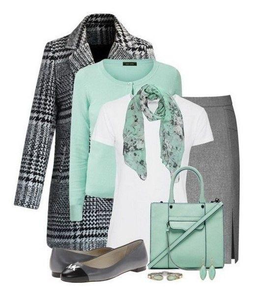 Ideas De Outfits En Colores Gris Verde Menta Mint Cardigan Outfit Yellow Dress Outfit Fashion