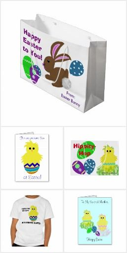 Easter spring themed gifts for everyone easter bunny cute yellow easter spring themed gifts for everyone easter bunny cute yellow chick eggs colorful decorated eggs gift bags tissue paper wrapping paper negle Choice Image