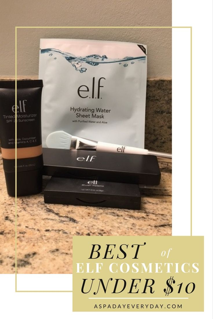 Check out these awesome products from elf all under $10!