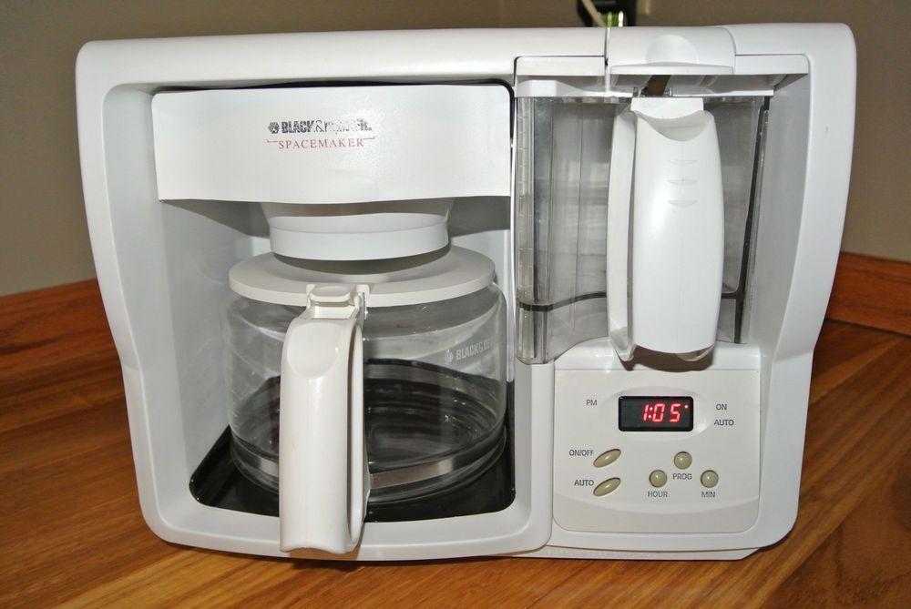 Black Decker Spacemaker Odc325 Under Cabinet 12 Cups Coffee