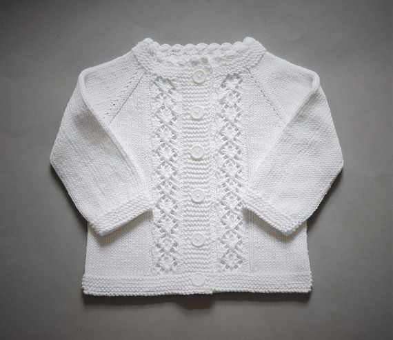 Cotton baptism cardigan christening sweater snow white jacket lace sweater baby summer sweater new baby summer cardigan MADE TO ORDER