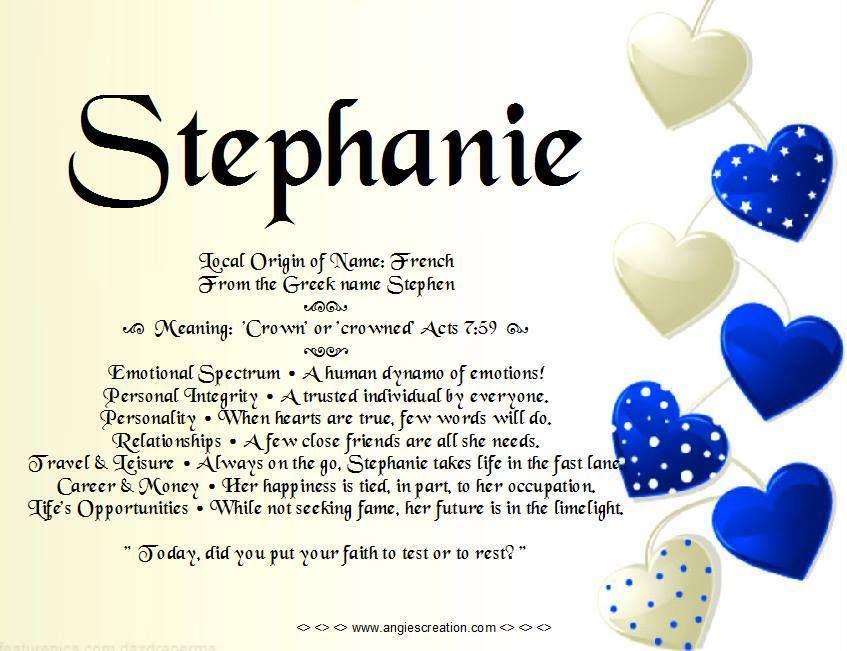 You have a kind heart | Me | Stephanie lynn, Names with