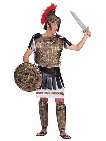 Roman Soldier Set Gold Adult Costume  sc 1 st  Pinterest & Roman Soldier Set Gold Adult Costume | Roman soldiers Roman and ...