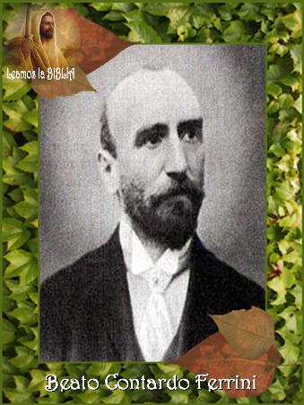 Leamos la BIBLIA: Beato Contardo Ferrini