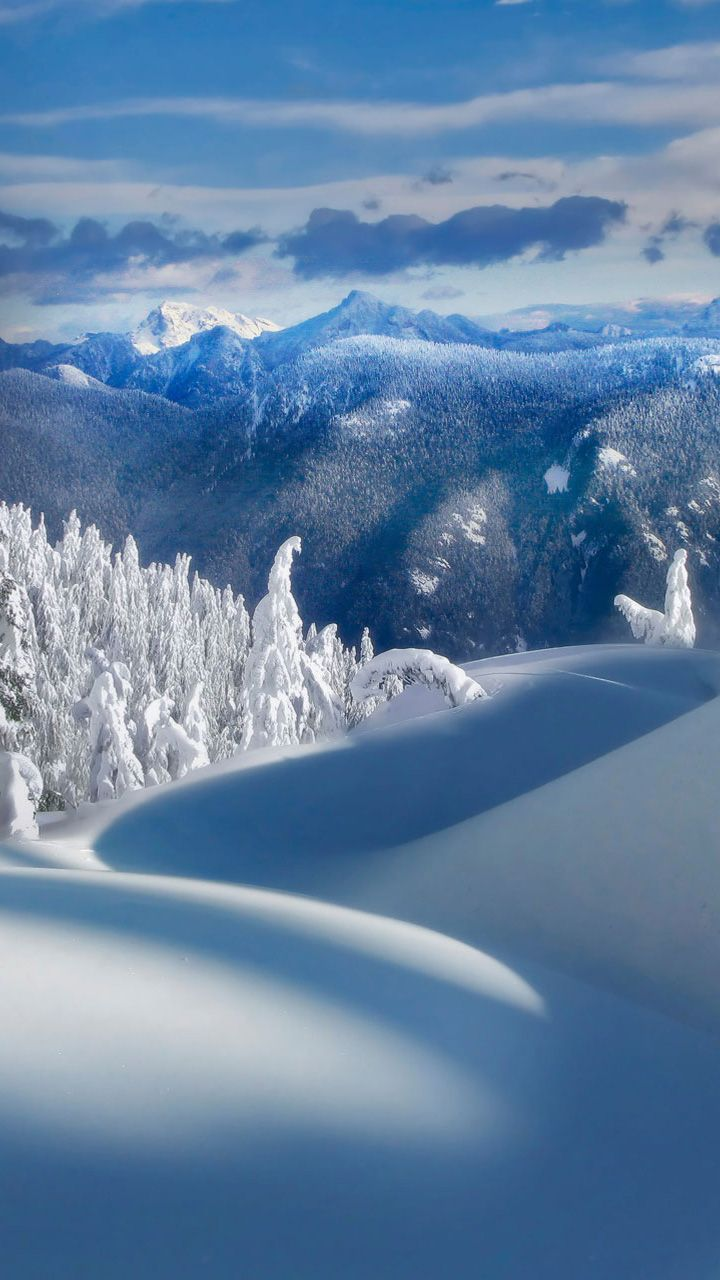 Wallpaper Samsung Winter Iphone Wallpapers Scenes Snow Christmas Eve Photos Cold Display
