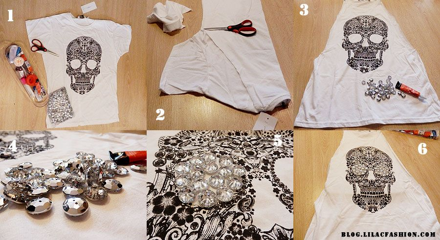 How To Make Your Own T Shirt My Favorites Diy