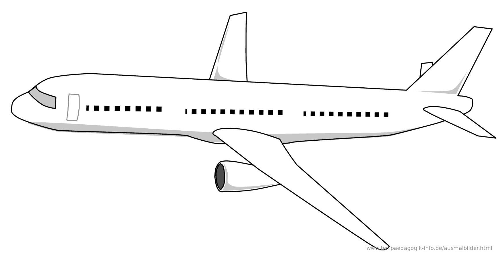 groß flugzeug malvorlage kostenlos galerie in 2021