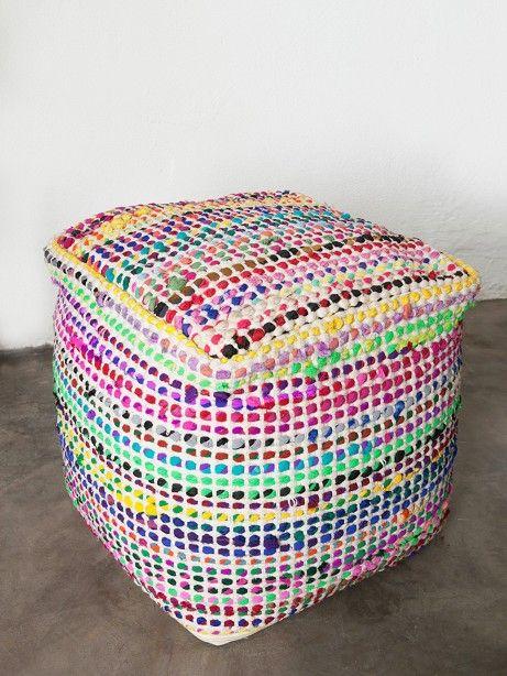 Puff Crochet | collector55 - loja de decoração online - Collector55