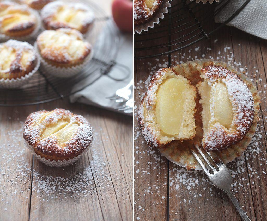 Saftige Apfeltörtchen - schnell & einfach gemacht #apfelmuffinsrezepte