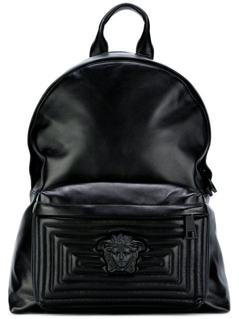 debd29873e VERSACE Medusa Backpack.  versace  bags  leather  lining  backpacks ...