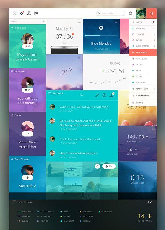 25 Innovative Dashboard Concepts and Designs The Design - dashboard design inspiration