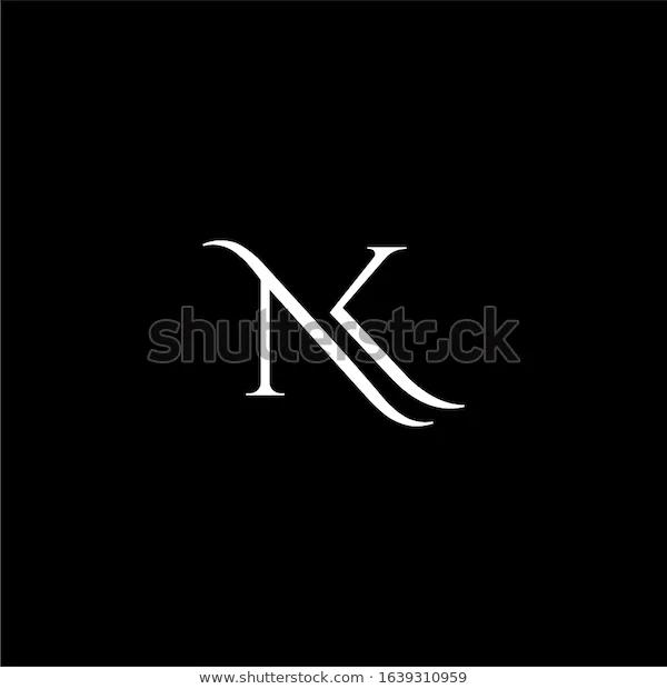 nk logo letter designs premium in 2020 letter logo design lettering design letter logo nk logo letter designs premium in 2020