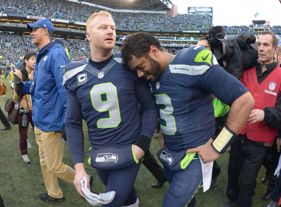 Russ & Ryan. Emotional finish. SEAHAWKS Nfc