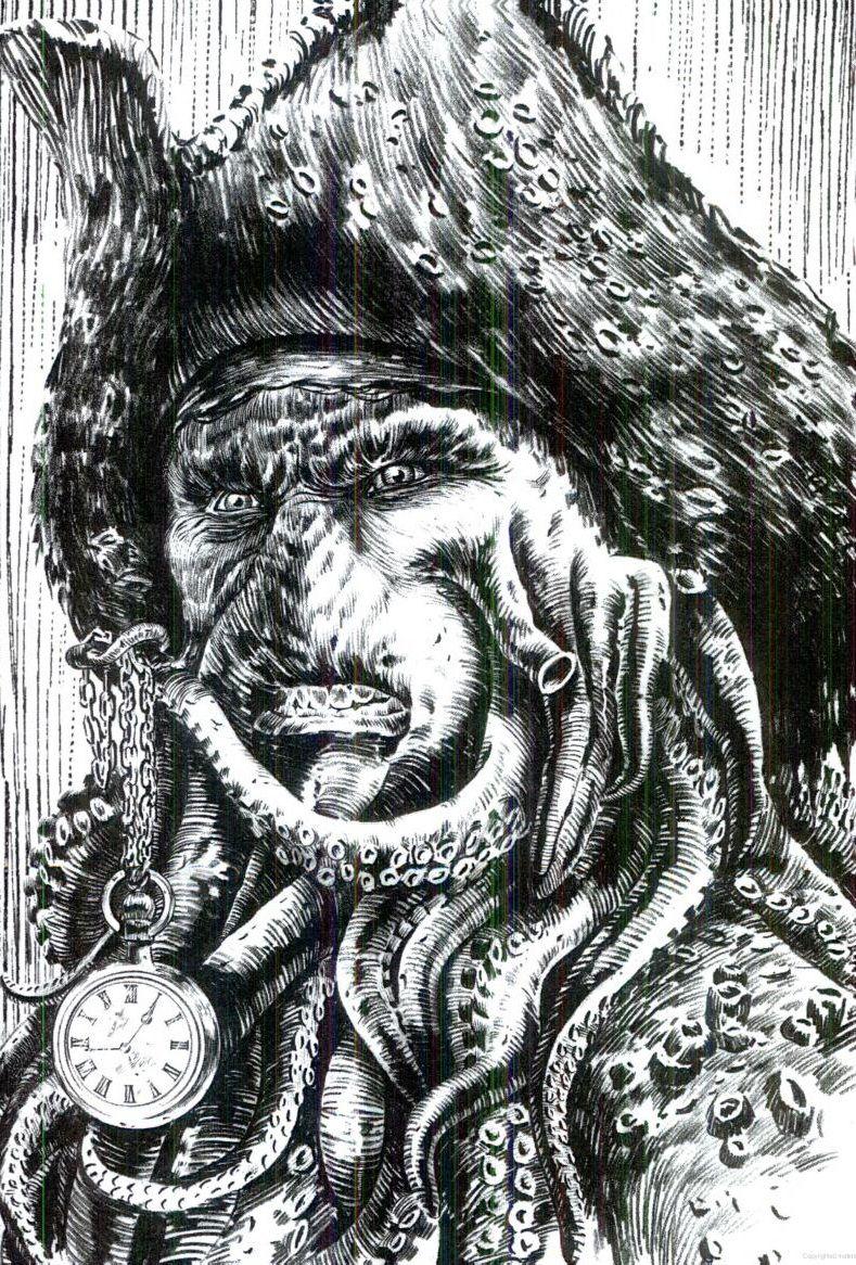 Davy Jones Davy Jones Pirates Davy Jones Pirate Art