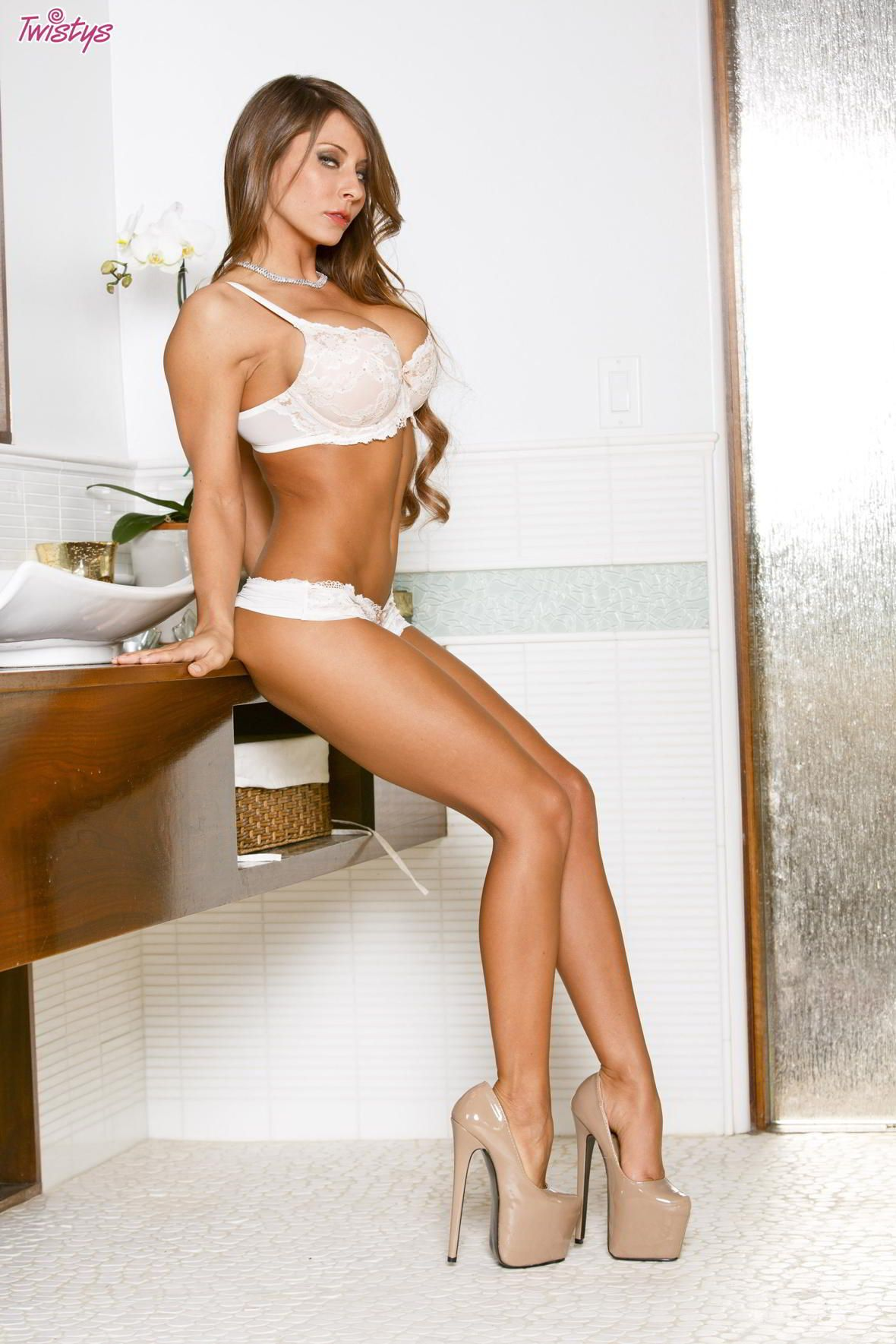 Madison ivy high heels