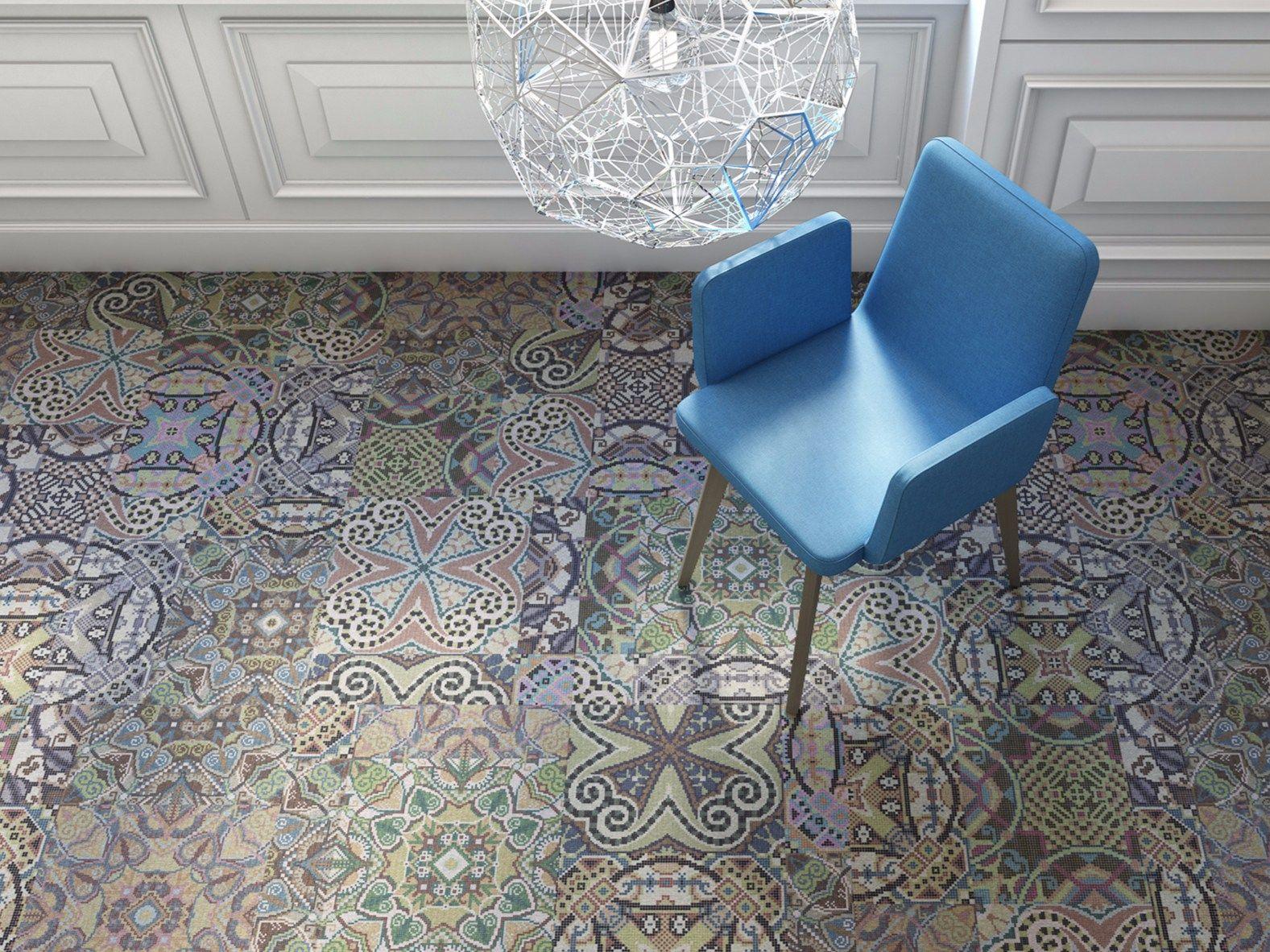 Dalle de moquette motifs venice by object carpet gmbh for Moquette motif parquet