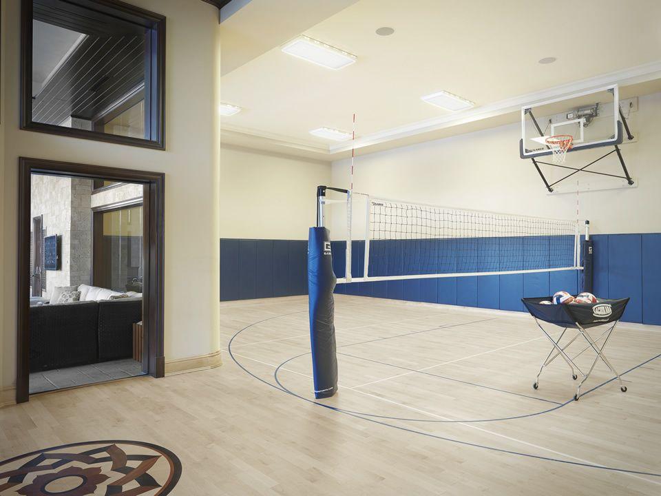 Portfolio St Louis Custom Home Builder Home Basketball Court Indoor Basketball Court Basketball Room
