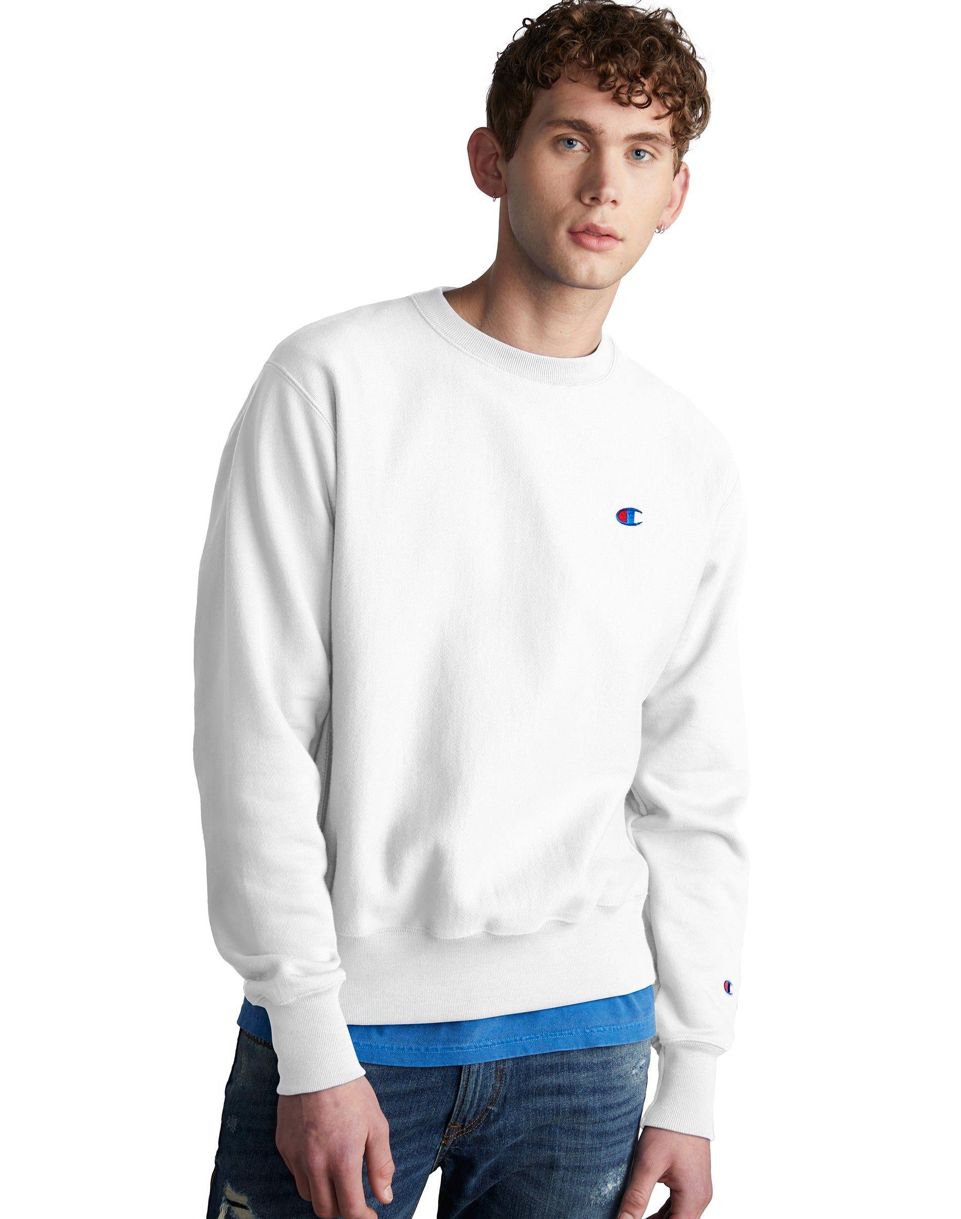 Predownload: Champion Life Men S Reverse Weave Sweatshirt Champion Com Long Sleeve Tshirt Men Mens Tops Sweatshirts [ 2410 x 1900 Pixel ]