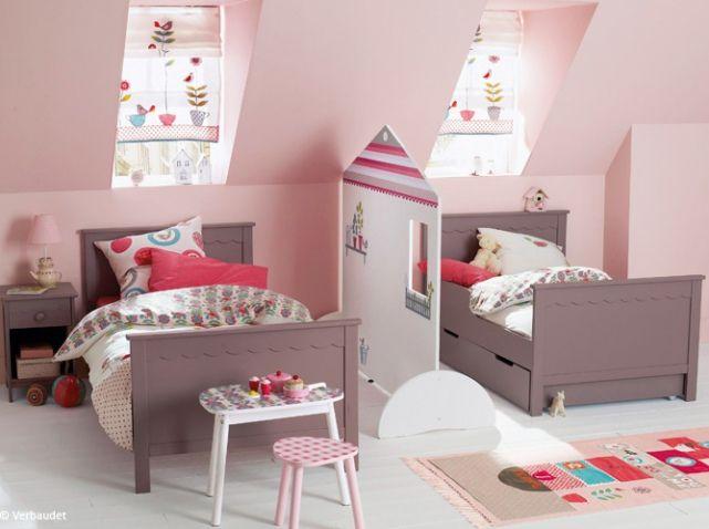 Chambre pour 2 filles vertbaudet | Chambre enfant | Pinterest ...